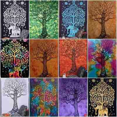 Tree of life tapestries Wall Hangings