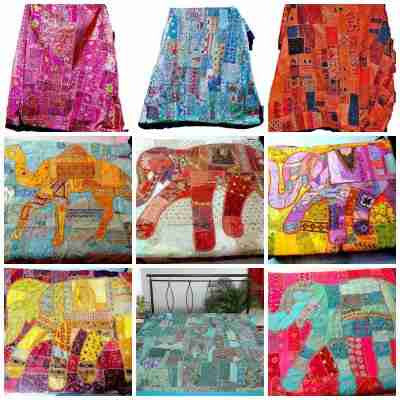 Patchwork Tapestries & Bedspreads