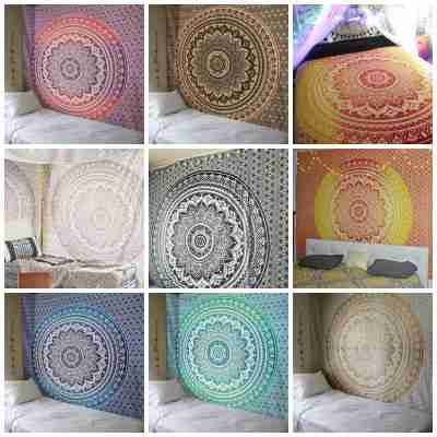 Ombre Tapestries Wall Hangings