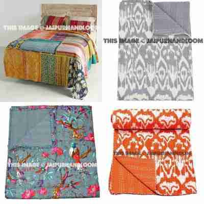 Twin Kantha Throws