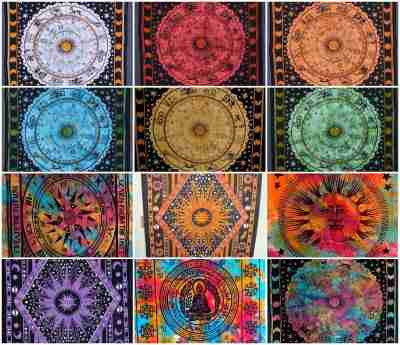 Sun and Moon Tapestries Wall Hangings