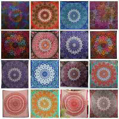 Star Mandala Tapestries Wall Hangings