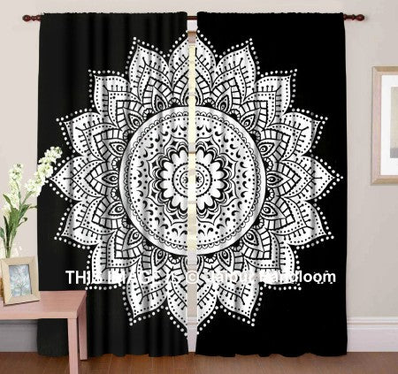 mandala curtain