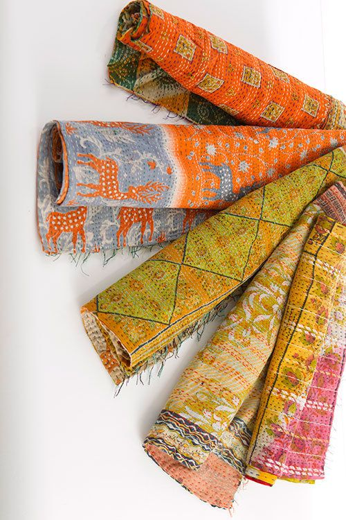 Vintage Kantha Quilts Wholesale Supplier Jaipur Handloom