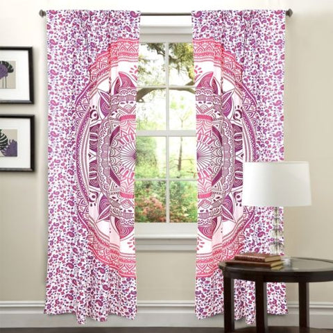 boho chic dorm room curtain