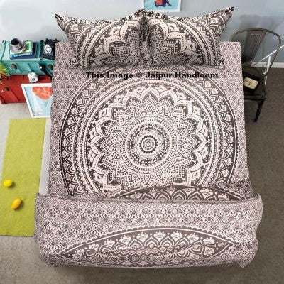 Grey Ombre Mandala Bedding 4-pc-set-indian-ombre-mandala-duvet-quilt-cover-with-queen-bed-sheet-pillows-jaipur-handloom_1024x1024