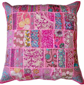 "pink 24"" throw pillows for couch"