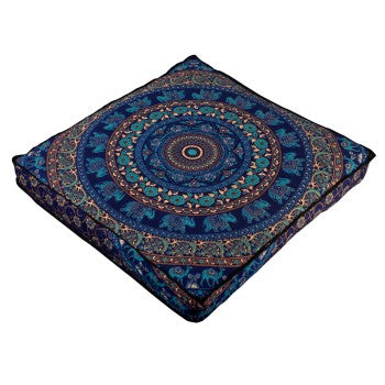 bohemian mandala floor pillows