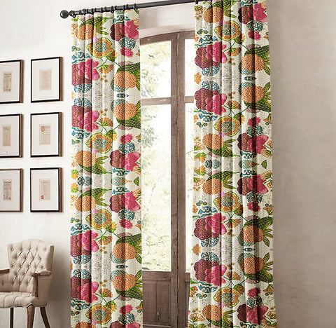 kantha curtains by Jaipur Handloom
