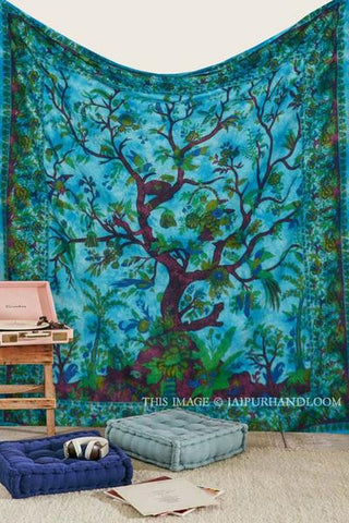 Tree of life Wall tapestry by Jaipur Handloom