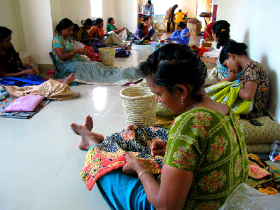 Sustainable livelihoods of Kantha Artisans and Environmental Safety - Fair Trade Initiative and Mission of Jaipur Handloom
