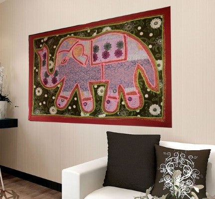 Indian Patchwork Tapestry for Dorm room Decor - Essential College dorm decor