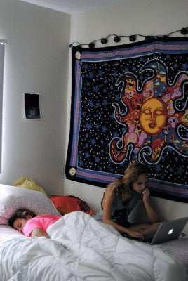psychedelic Tapestry for Dorm Rom Decor