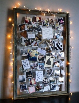 Photo String Lights For A Personalized Touch - dorm room ideas