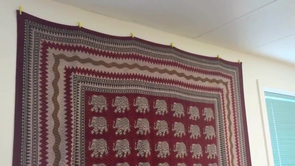 How To Hang Dorm Tapestry