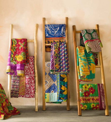 What is Kantha? | History of Kantha | Untold Story of Vintage Kantha Quilt - Manufactured by Jaipur Handloom