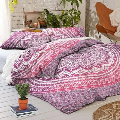 pink-ombre-duvet-cover-set-king-size-quilt-cover-boho-comforter-cover-and-pillows-jaipur-handloom_1024x1024