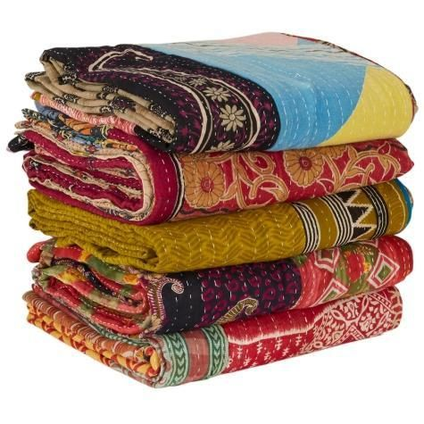 Story Behind Kantha Quilts | Vintage Kantha Quilts and Throws by Jaipur Handloom