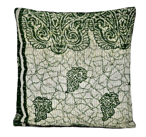 "16"" bohemian throw pillows for couch vintage sari kantha pillow covers 
