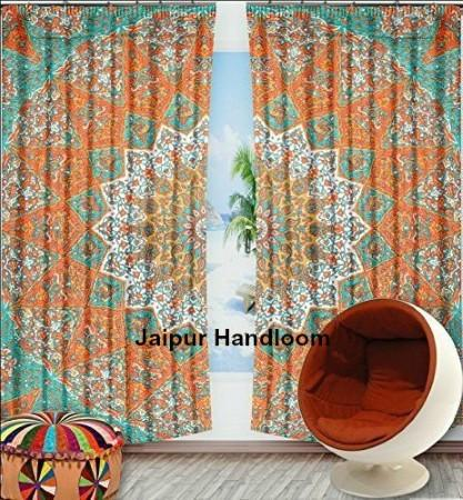 Mandala Hippie Tapestry Curtains Amp Window Door Drapes Valances