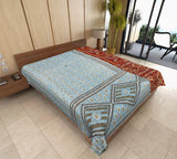 bohemian kantha throw indian kantha blanket twin kantha bedding coverlet AS45-Jaipur Handloom