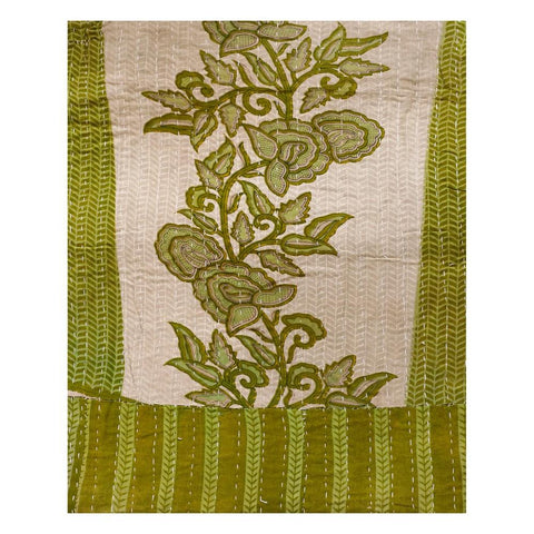 Buy vintage kantha throw on sale Indian Handmade Kantha Bedspread-Jaipur Handloom