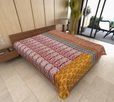 handmade kantha throw indian kantha bed cover twin kantha bedding AS42-Jaipur Handloom