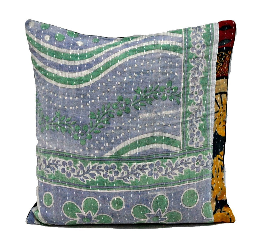 Strange Indian Vintage Kantha Pillow Covers Bohemian Sofa Couch Decorative Pillows Ns31 Pdpeps Interior Chair Design Pdpepsorg