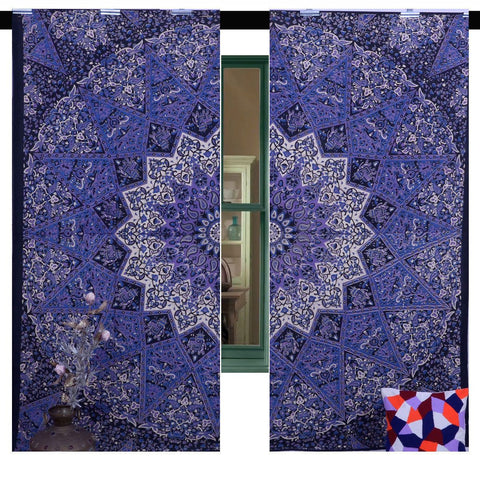 Mandala Tapestry Living Room