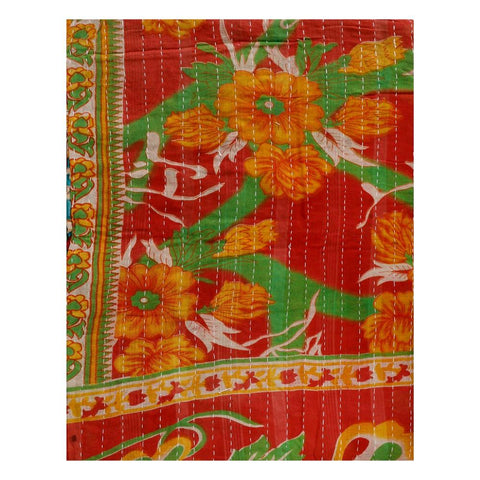 vintage kantha throw - AS39-Jaipur Handloom