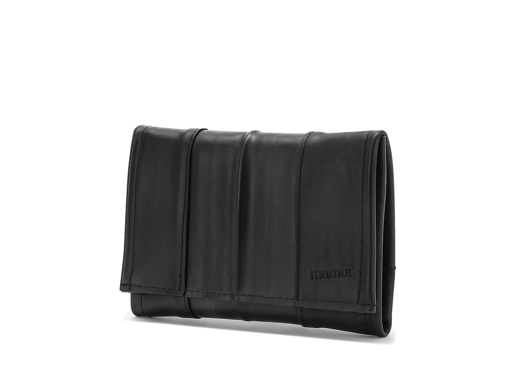 Vegan Wallet Women, Recycled Wallet, Inner Bike Tube Wallet
