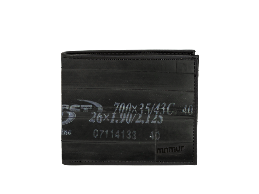 Vegan Wallet Men, Recycled Wallet, Inner Bike Tube Wallet
