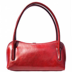 Alive With Style 'Serafina' Italian Leather Handbag/Shoulder Bag in Green-Black-Red-Tan-Navy-Brown