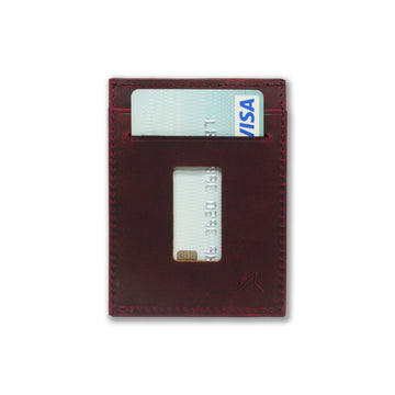 はる / The Haru Cardholder Wallet / Wine Red