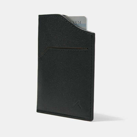 Smallest Minimalist Wallet - Natsu Wallet (Black) - Kisetsu.Co - slim rfid shielding minimalist wallet - bellroy slim sleeve, bellroy card sleeve
