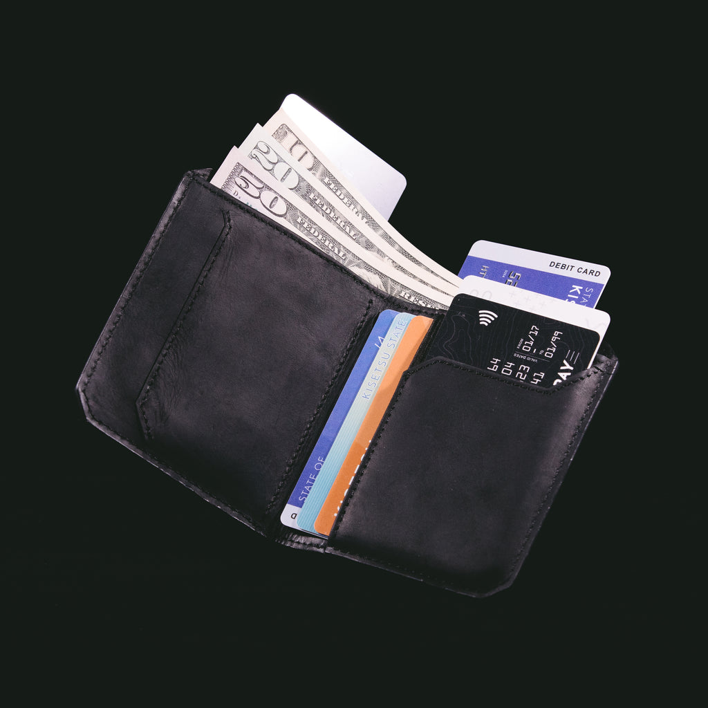 Kaizen Wallet in Crazy Horse Leather - [PRE-ORDER 32% OFF. DELIVERY ETA END APRIL 2019]