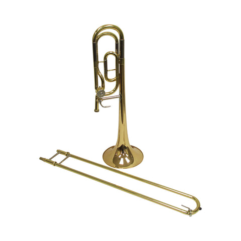 USED Yamaha YSL-448G Bb/F Intermediate Trombone