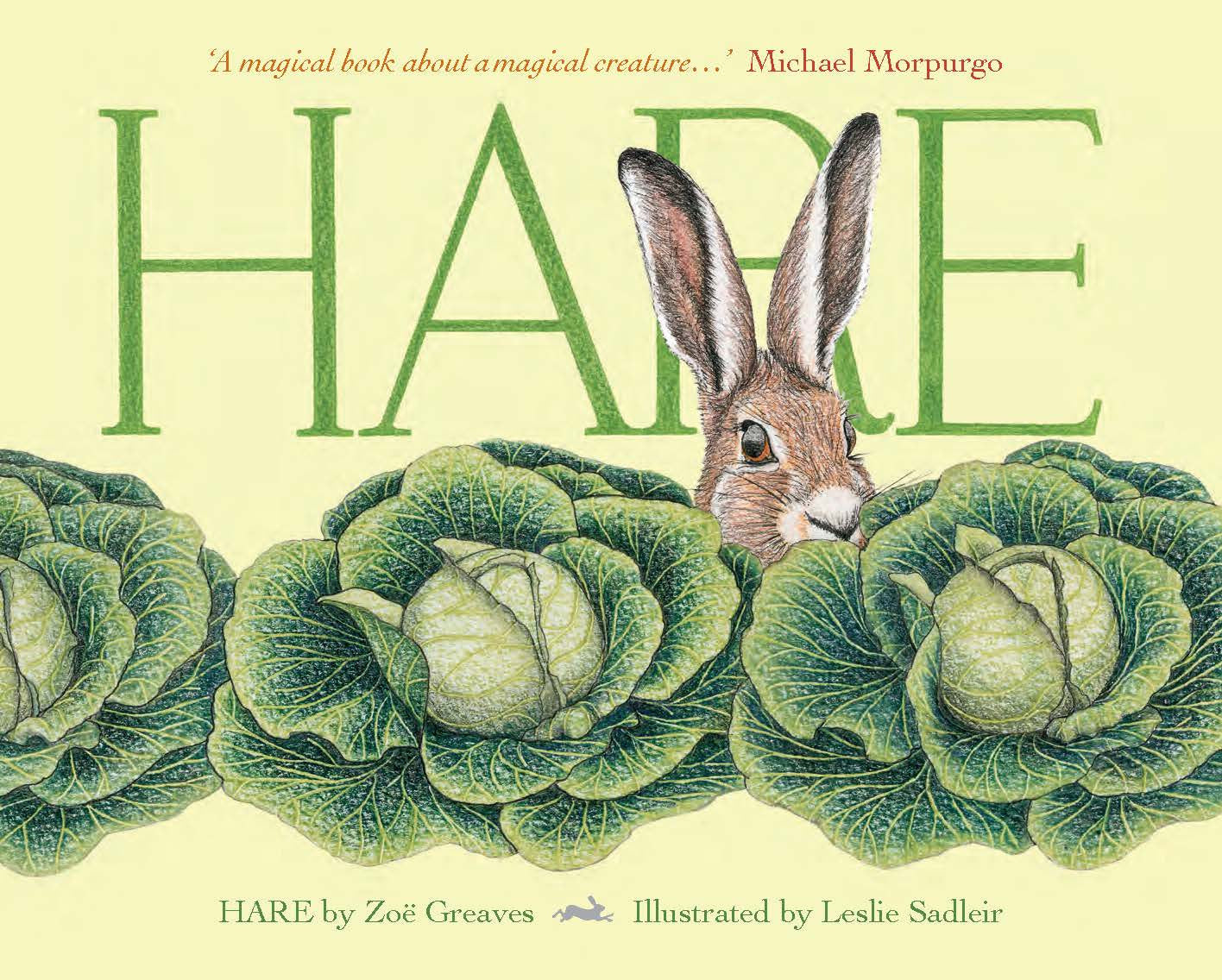 Hare by Zoe Greaves