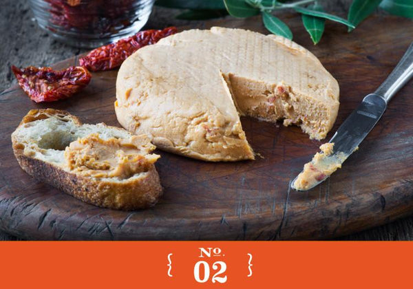 Miyoko's Creamery Double Cream Sundried Tomato Garlic Cheese - 184g