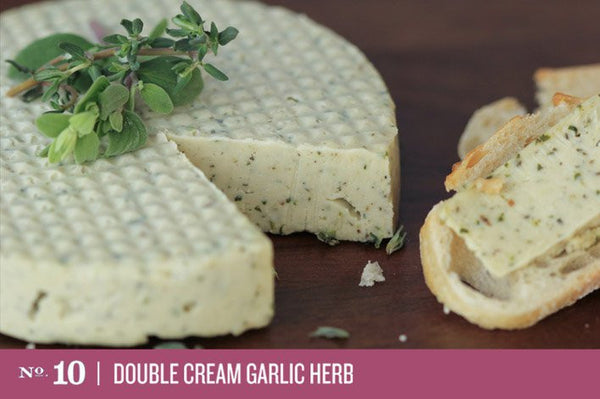 Miyoko's Creamery No 10 Double Cream Garlic Herb Cheese - 184g