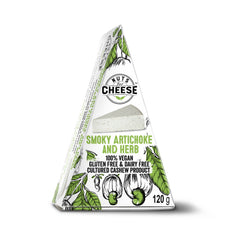 Nuts For Cheese Smoky Artichoke and Herb - 120g