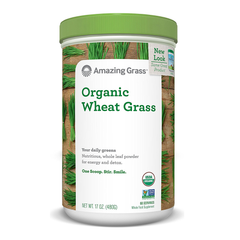 Amazing Grass Organic Wheat Grass (60 Servings) - 480g