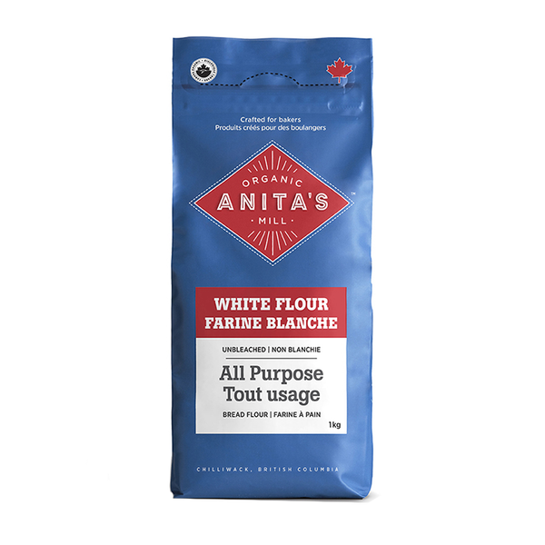 Anita's Organic Mill All Purpose Unbleached White Flour - 1kg