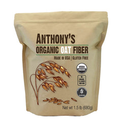 Anthony's Goods Organic Oat Fiber - 680g