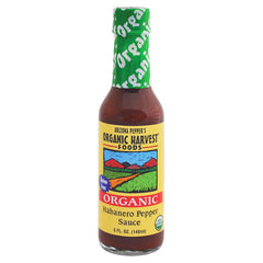 Arizona Pepper's Organic Harvest Habanero Pepper Sauce - 148ml