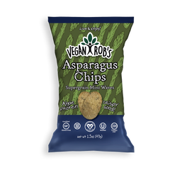 Vegan Rob's Asparagus Rice Chips - 99g