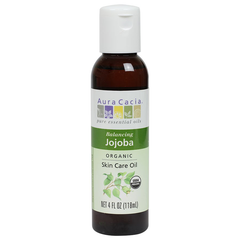 Aura Cacia Organic Jojoba Skin Care Oil - 118ml