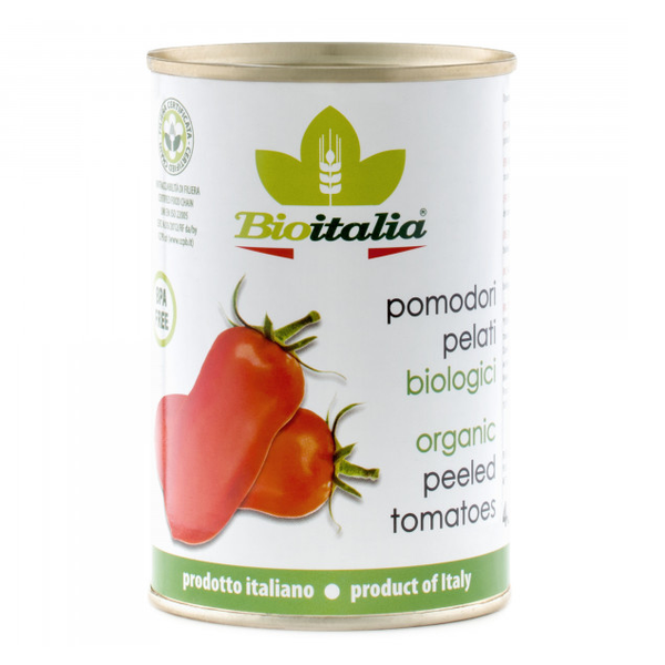 Bioitalia Organic Peeled Tomatoes - 398ml