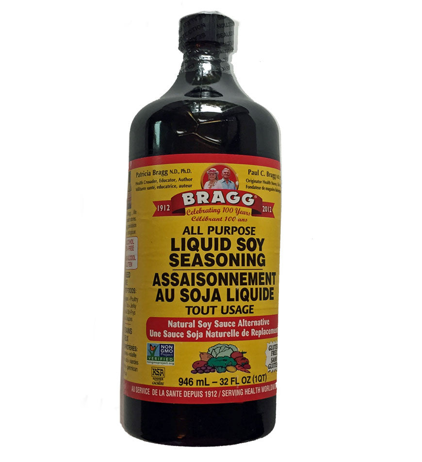 0ab8738ba4 Bragg All-Purpose Liquid Soy Seasoning - 946ml – VeganSupply.ca