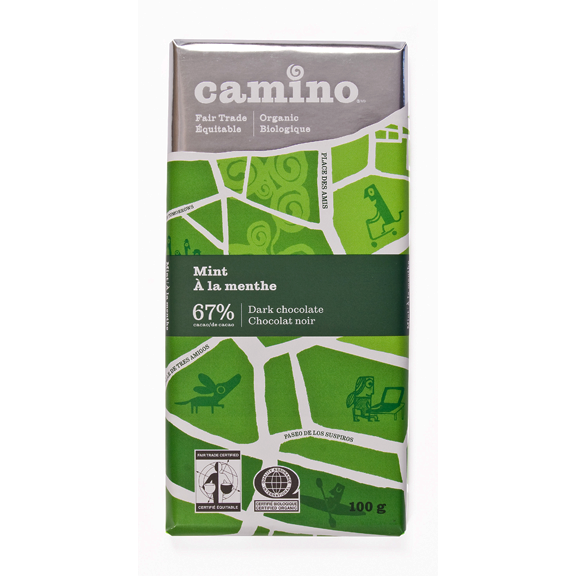 Camino Mint Chocolate 67% - 100g